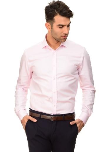 Cotton Bar Uzun Kollu Gömlek Pembe